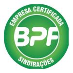 QUINABRA Empresa Certificada BPF - Sinirações